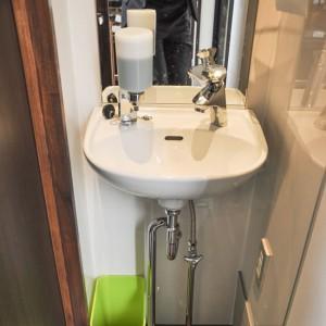 食前/食後の手洗いも店内で可能