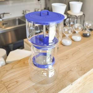 夏には「水出し」方式のアイスコーヒーをご提供