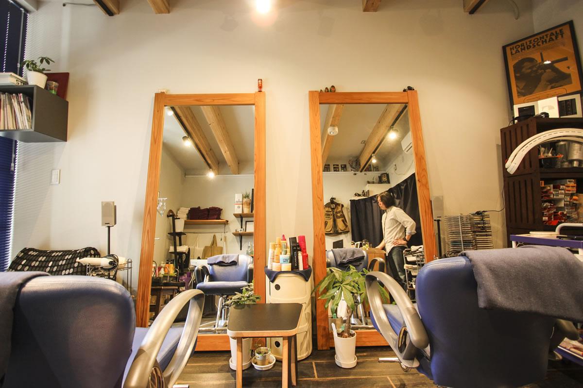 Tempo Hair Salon店内